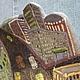 Декоративная посуда ручной работы. Блюдо Краски Ночного Мегаполиса. Анастасия Деркач VITTERA. Ярмарка Мастеров. Городской стиль, роспись
