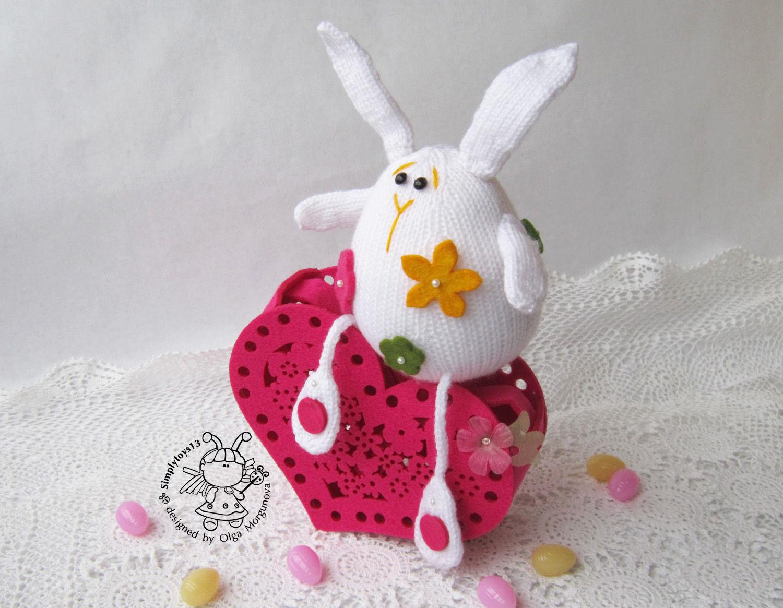 Поделка пасхальная кролик