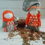 Куклы и игрушки handmade. Livemaster - original item Krupnick and Rich talisman for prosperity. Handmade.