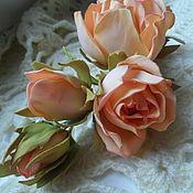 Украшения ручной работы. Ярмарка Мастеров - ручная работа Веточка из роз. Handmade.