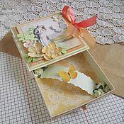 Свадебный салон ручной работы. Ярмарка Мастеров - ручная работа Коробочка для денег на свадьбу. Handmade.