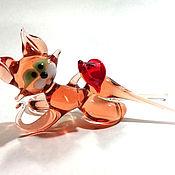 Для дома и интерьера handmade. Livemaster - original item Red cat in love. Handmade.