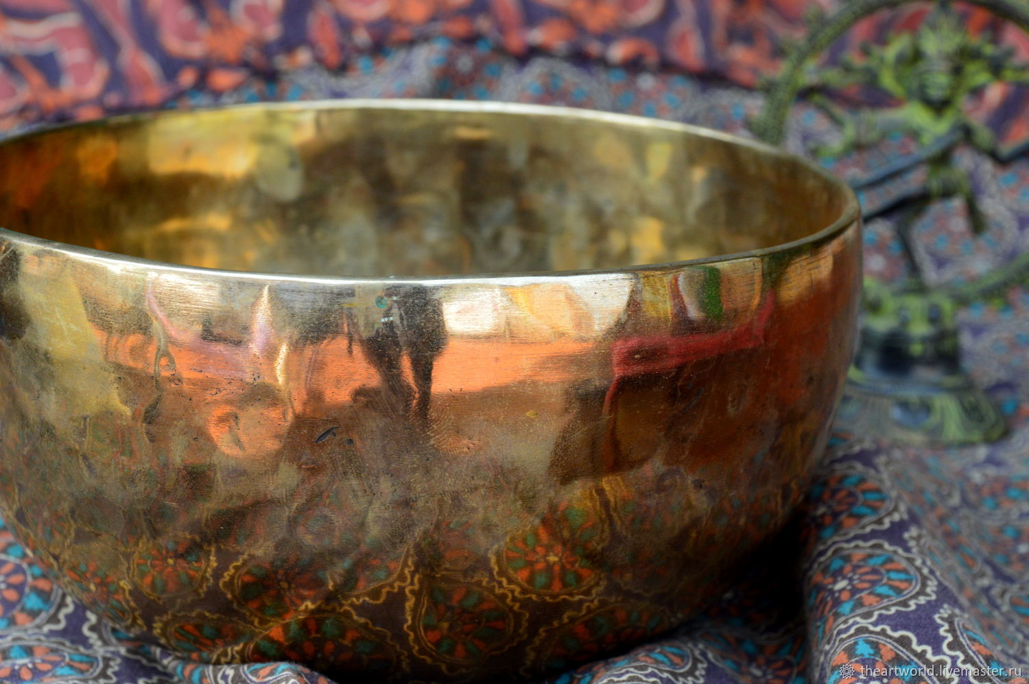 Copy of Copy of Singing bowl 20cm Tibet, Singing bowls, Moscow,  Фото №1