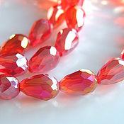 handmade. Livemaster - original item Beads: glass drops. Handmade.