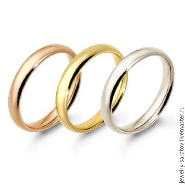 fa9a07a41cad Кольца ручной работы. Кольца обручальные, классические. Jewelry-Saratov.  Интернет-магазин