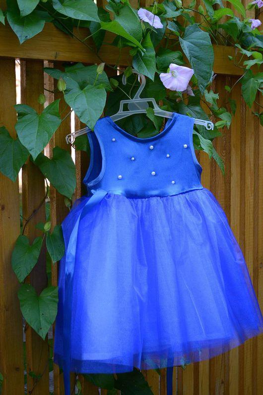 """Одежда для девочек, ручной работы. Ярмарка Мастеров - ручная работа. Купить Вечернее платье """"Нимфа"""". Handmade. Платье для девочки, карнавал"""