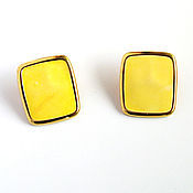 Винтаж handmade. Livemaster - original item Vintage clip-on earrings Monet. Handmade.