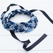Русский стиль handmade. Livemaster - original item Necklace. Handmade.