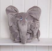 Куклы и игрушки ручной работы. Ярмарка Мастеров - ручная работа Лямуры Слоны. Handmade.