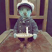 Мишки Тедди ручной работы. Ярмарка Мастеров - ручная работа Мишки Тедди: Тедди. Винтажные Тедди. Тедди капитан. Handmade.