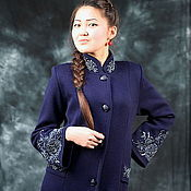 "Одежда handmade. Livemaster - original item Knitted coat""Fashion vintage rose"". Handmade."