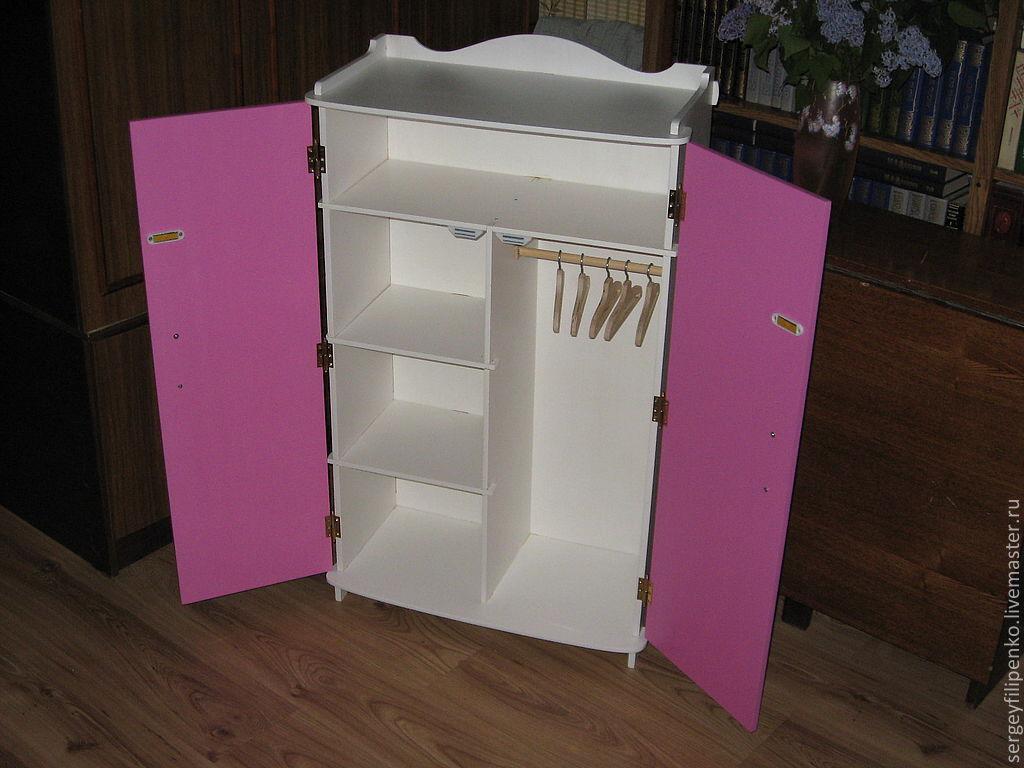 Кукольный дом в шкафу своими руками
