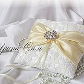 Свадебный салон ручной работы. Ярмарка Мастеров - ручная работа Свадебные подушечки для колец в ассортименте. Handmade.