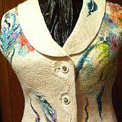 """Одежда ручной работы. Ярмарка Мастеров - ручная работа Жилет """"Снежанна-1"""". Handmade."""