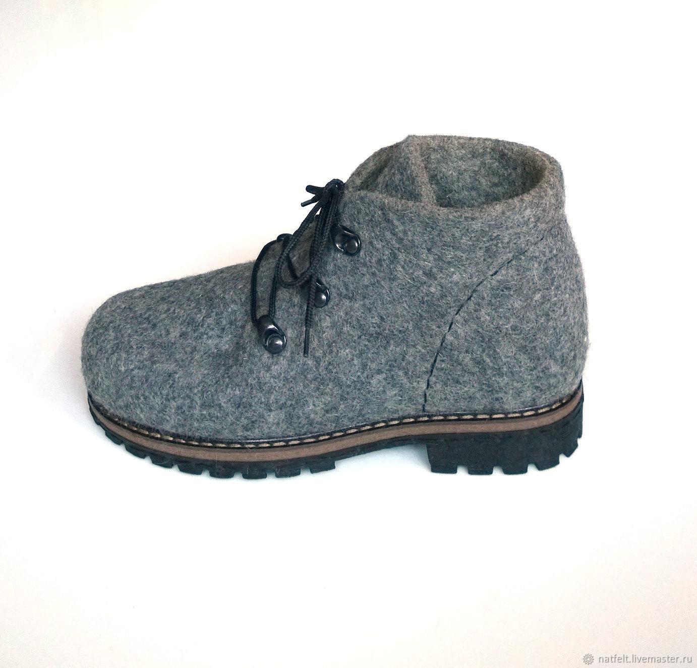 9e4fd916e Обувь ручной работы. Ярмарка Мастеров - ручная работа. Купить Валяные  ботинки