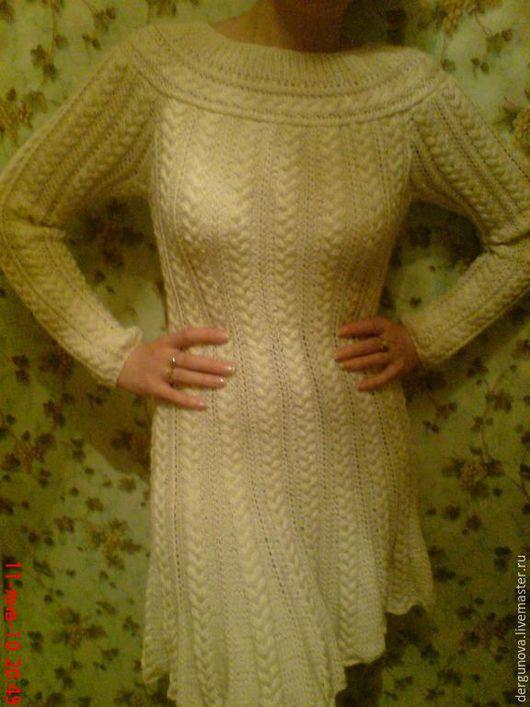 Платья ручной работы. Ярмарка Мастеров - ручная работа. Купить Платье. Handmade. Бежевый, женская одежда