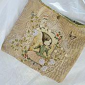 Сумки и аксессуары ручной работы. Ярмарка Мастеров - ручная работа принцесса-летняя сумка планшетница. Handmade.