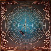 Фен-шуй и эзотерика handmade. Livemaster - original item Altar Cloth Set for + pendulum Pendulum Lapis Lazuli. Handmade.