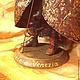 Коллекционные куклы ручной работы. Заказать авторская кукла Венецианский карнавал. Екатерина Николенко. Ярмарка Мастеров. Фиолетовый, кукла на подставке