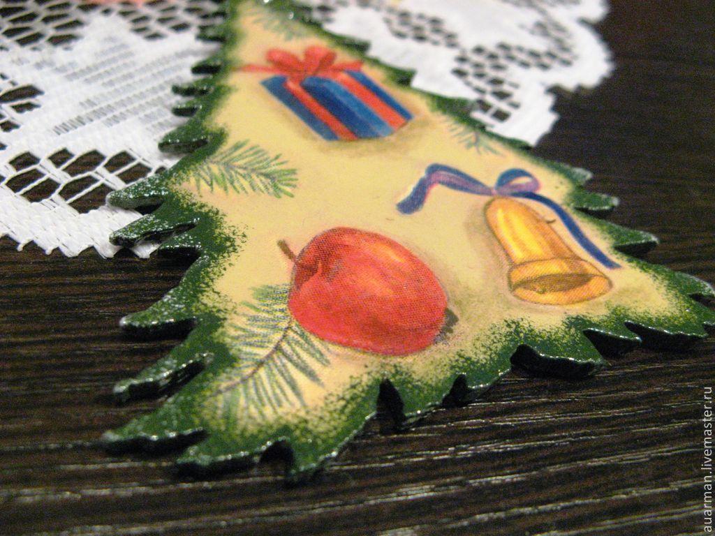 Елочные деревянные игрушки16