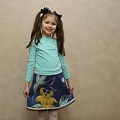 """Работы для детей, ручной работы. Ярмарка Мастеров - ручная работа Валяная детская юбка """"Сова"""". Handmade."""