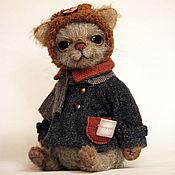 Куклы и игрушки ручной работы. Ярмарка Мастеров - ручная работа кот Мюррей 23,5см. Handmade.