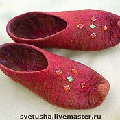 Обувь ручной работы handmade. Livemaster - original item Slippers