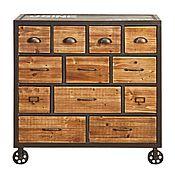 Для дома и интерьера handmade. Livemaster - original item A chest of drawers in the Loft. Handmade.