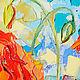 """Картины цветов ручной работы. Картина """"Маки в Утреннем Свете"""" (масло, холст). ЯРКИЕ КАРТИНЫ Наталии Ширяевой. Ярмарка Мастеров."""