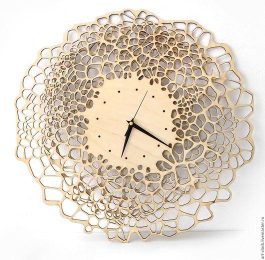 Часы для дома ручной работы. Ярмарка Мастеров - ручная работа. Купить Деревянные настенные часы. Handmade. Настенные часы