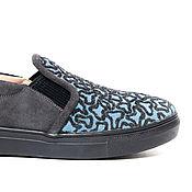 Обувь ручной работы. Ярмарка Мастеров - ручная работа Слипоны Soft. Handmade.