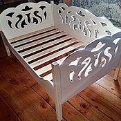 Мебель ручной работы. Ярмарка Мастеров - ручная работа Диван резной. Handmade.
