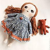 Куклы и игрушки ручной работы. Ярмарка Мастеров - ручная работа с лисой. Handmade.