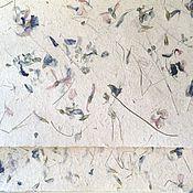 """Картины и панно ручной работы. Ярмарка Мастеров - ручная работа """"Корзина с цветочками"""" бумага ручной работы. Handmade."""