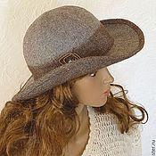 Аксессуары ручной работы. Ярмарка Мастеров - ручная работа Шляпа тёплая. Handmade.