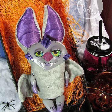 """Куклы и игрушки ручной работы. Ярмарка Мастеров - ручная работа Мягкая игрушка ручной работы """"Летучая мышка"""". Handmade."""