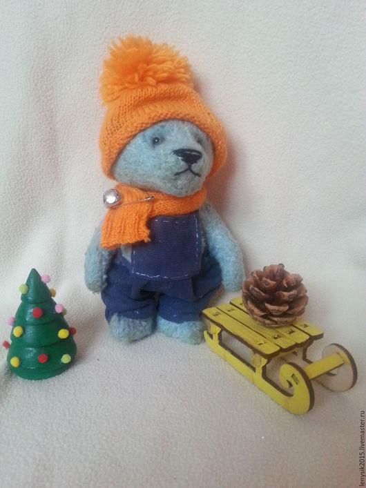 Мишки Тедди ручной работы. Ярмарка Мастеров - ручная работа. Купить Мишка Тедди. Handmade. Голубой, мишка, купить