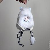 Куклы и игрушки ручной работы. Ярмарка Мастеров - ручная работа Мистер Хих Моншустер - авторская текстильная игрушка. Handmade.