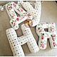 Детская ручной работы. Ярмарка Мастеров - ручная работа. Купить Буквы подушки из ткани. Handmade. Буквы, буквы из ткани