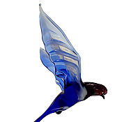 Для дома и интерьера handmade. Livemaster - original item Interior hanging decoration stained glass bird Swallow Vor. Handmade.