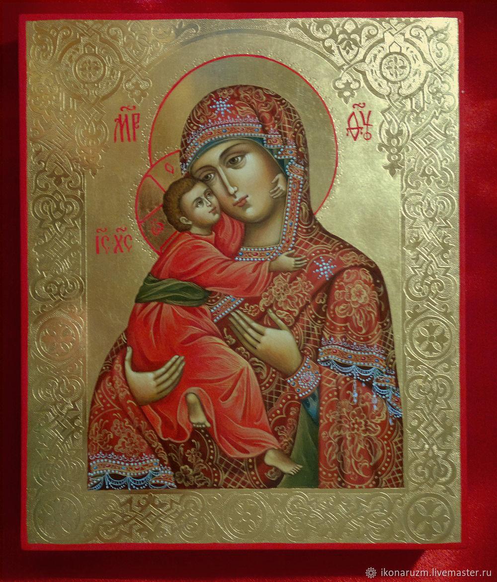 Икона Богородица Владимирская, Иконы, Санкт-Петербург,  Фото №1