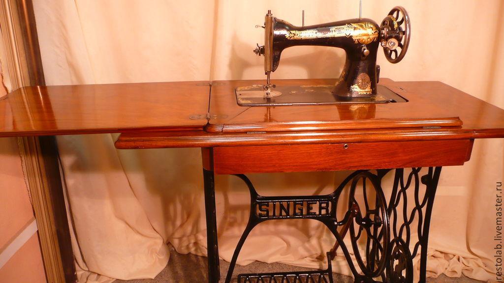 Реставрация швейной машинки зингер своими руками 720