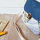 Женские сумки ручной работы. Сумочка текстильная.. дизайн- студия Ани Ромашкиной. Ярмарка Мастеров. Сумочка для прогулок, металлическая фурнитура