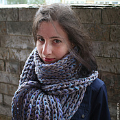 Аксессуары handmade. Livemaster - original item Pure wool scarf