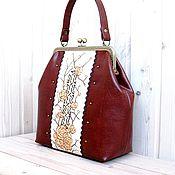 Сумки и аксессуары handmade. Livemaster - original item Sea Buckthorn tea bag Handbag. Handmade.