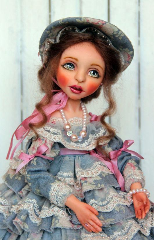 Коллекционные куклы ручной работы. Ярмарка Мастеров - ручная работа. Купить Коллекционная кукла Шурочка. Handmade. Коллекционная кукла