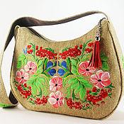 Сумки и аксессуары handmade. Livemaster - original item Bag embroidered