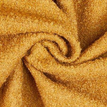Materials for creativity handmade. Livemaster - original item Fabric: Wool coat fabric mustard color. Handmade.