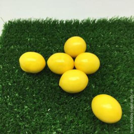 Лимон декоративный 2,5 см Цена указана за 1 шт