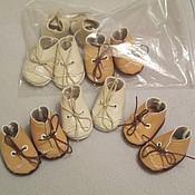 Куклы и игрушки ручной работы. Ярмарка Мастеров - ручная работа образцы обуви  на заказ. Handmade.